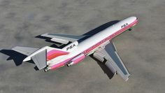 PSA Boeing 727 model Boeing 727, Scale Models, Aircraft, Vehicles, Jets, Commercial, Miniatures, Aviation, Scale Model