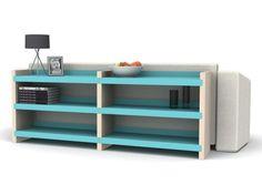 FREQUENCY shelves system by Domitalia - design Paul Stott