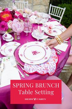 Elevate any table with my scalloped napkins. The pink floral pattern is a custom block print, and elegantly accented by scarlet scalloping. This set makes a wonderful gift for any occasion.