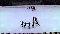 NEXXICE Sr. Free: 2014 Skate Canada Synchronized Skating Championships