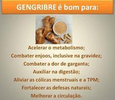 #Benefícios do #gengibre. Saiba como fazer mais coisas em http://www.comofazer.org