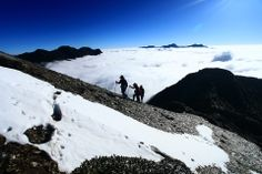 snow #Taiwan  南投 馬博橫斷