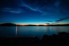 Sunset and a bonus moonset over Lake Temagami, Ontario, Canada. Love Photos, Sunsets, Ontario, Sunrise, Canada, Celestial, Outdoor, Outdoors, Sunrises