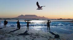 Milnerton Beach, Cape Town, South Africa Beautiful Nature Pictures, Cape Town, Live, South Africa, Travel Destinations, Mountains, World, Beach, Flat Ideas