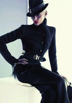 Giorgio Armani Black Glam.  Wish this wasn't too much for the office...