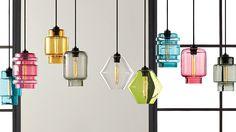 Modern Lighting, Contemporary Lamps, Chandeliers - Niche Modern  featured in:  http://www.houzz.com/pro/nichemodern/niche-modern  http://www.nichemodern.com  http://design-milk.com/crystalline-series-niche-modern/  http://www.nichemodern.com/Crystalline.html