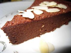 Moelleux au chocolat sans beurre ni farine - Page 2 sur 2 - Tasties Foods Ww Desserts, Chocolate Desserts, Chocolate Cake, Dessert Ig Bas, Such Wow, Something Sweet, Biscuits, Healthy Eating, Nutrition