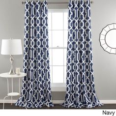 Lush Decor sells a variety modern curtains, such as the Edward Trellis Room Darkening Window Curtain Panel Set online. To view our selection, head over to our website today! Thermal Curtains, Grommet Curtains, Drapes Curtains, Moroccan Curtains, Pattern Curtains, Target Curtains, Plaid Curtains, Striped Curtains, Curtains Living