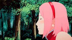 He's so shy. Anime Naruto, Naruto E Boruto, Naruto Fan Art, Naruto Cute, Narusaku, Naruto And Sasuke, Manga Anime, Anime Gifs, Sasuke Sakura Sarada