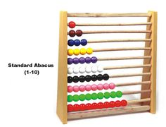 Enthusiastic Portable Arithmetic Soroban Colorful Beads Mathematics Calculate Chinese Abacus Toy Kids Education Toy Kids Gift Board Game Sports & Entertainment