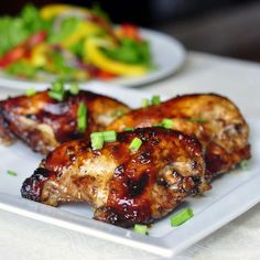 Honey Soy Chicken Breasts - this recipe uses just a few simple ingredients and very little advance preparation to create a quick and easy workday meal that's sure to be a hit with the whole family.
