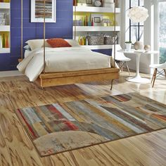 Fall in Love with Your Floors with an area rug from American Rug Craftsmen by Mohawk Home #arcrugs [Promotional Pin]