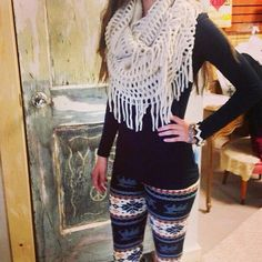 I love these leggins but I feel like I would never find them :(