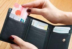 Genuine Leather Cute Slim Short Trifold Wallet Card Holder Wallet Purse For Women Girl Card Wallet, Purse Wallet, 3d Design, Wallets For Women, At Least, Card Holder, Slim, Purses, Mini