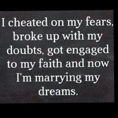 One Day!!! Cause I have faith and high hopes!!! :)