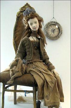 Мир амазонок Натальи Побединой или Женский взгляд на авторскую куклу / Авторская кукла известных дизайнеров / Бэйбики. Куклы фото. Одежда для кукол