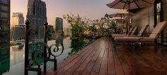 Hotel Muse Bangkok Langsuan MGallery Collection - ocated close to BTS Phloen Chit Station, this trendy 5-star hotel provides a rooftop bar. With a sauna, a fitness centre and an outdoor pool, it ensures an enjoyable stay in Bangkok.