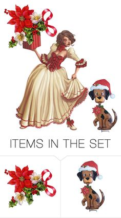 """""""Merry Christmas"""" by sabine-713 ❤ liked on Polyvore featuring art"""
