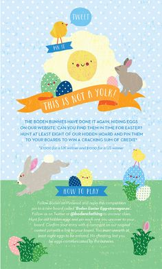 """Here are 5 brands who found creative ways to host their own email """"Easter egg hunt."""