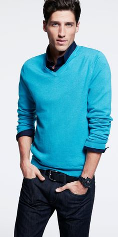 Love the color of this vneck
