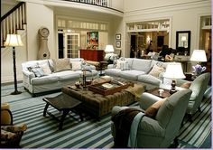 from Modern Country Style blog: Something's Gotta Give: Living Room