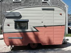 """""""The Pearl"""" 1961ish Shasta Compact - outside, I was born in '61, this was meant for me, now to find it..."""