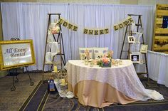 All Events Rental at the Today's Bride Bridal Show | Best Bridal Booth Designs | Bridal Show Booth decor Ideas