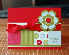A Cheery Thank You by dawnsing - Cards and Paper Crafts at Splitcoaststampers