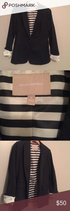 Selling this Banana Republic Blazer on Poshmark! My username is: mcdonss. #shopmycloset #poshmark #fashion #shopping #style #forsale #Banana Republic #Jackets & Blazers