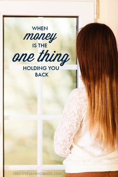 When money is tight, it`s hard to look past the present moment and find the courage and hope you need to move forward. If you`re the least bit frustrated, anxious, or feeling defenseless against a financial situation you can`t control, this post shares three valuable lessons on why you shouldn`t ever give up!