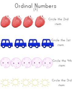 math worksheet : ordinal numbers worksheets  math  pinterest  ordinal numbers  : Kindergarten Ordinal Numbers Worksheet