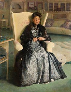 Olga Alexandrovna by P.Neradovskiy (1905, GIM) FRAME.JPG
