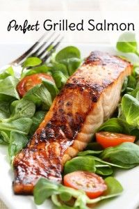Wondering what's the best way to cook salmon on the grill? Try my easy salmon marinade and learn exactly how long to grill salmon on the grill.