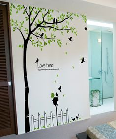 pics photos tree wall decals vinyl decal stickers owl large branch decor removable home sticker art