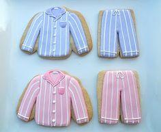 pajama cookies for pajama party --