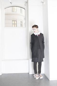 AW14/15 Menswear Portrait   #orphanbird #aw14 #menswear #fashion #minimalistic #contemporary #fashionportrait #whitespace #fashionphotography