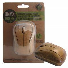 Accessoires - Souris sans fil en bambou
