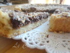 Crostata con Cioccolato Fondente e Mandorle