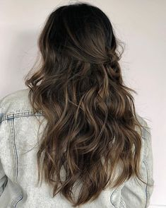 This was a color correction with painted highlights & lowlights, root melt into the ends. Everything was strategically… Brunette Highlights Lowlights, Brunette Hair Color With Highlights, Brown Hair Balayage, Hair Lights, Light Hair, Burnette Hair, Lazy Day Hairstyles, Hair Affair, Hair Painting