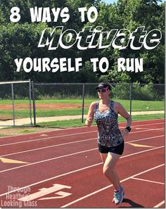 8 Ways to motivate yourself to run. Let's face it, there are some days we just don't feel like getting out there and running. Use these tips on those tough days to give yourself some motivation to workout and train. Sometimes we all could use a little motivation!