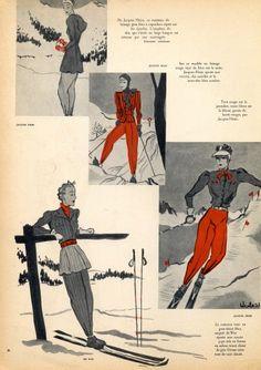 Jacques Heim 1938 Winter Sport