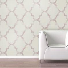 Swag Paper Distressed Trellis Self-Adhesive Wallpaper.