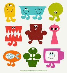 illustrated by Toru Fukuda my-illustration Illustrations Vintage, Illustrations Posters, Children's Book Illustration, Character Illustration, Bad Drawings, Art For Kids, Character Design, Doodles, Prints