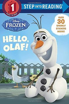 Hello, Olaf! (Disney Frozen) (Step into Reading) by Andrea Posner-Sanchez    http://www.amazon.com/gp/product/073643433X/ref=as_li_tl?ie=UTF8&camp=1789&creative=9325&creativeASIN=073643433X&linkCode=as2&tag=kampkinde0a-20&linkId=C6JAEIYWEHVTFBUH