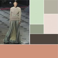 BHG Style Spotter @Kirsten Grove created a beautiful color palette from this runway look. Read more posts here: http://www.bhg.com/blogs/better-homes-and-gardens-style-blog/?socsrc=bhgpin060512