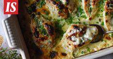 Uunibroileria ja endiivisalaattia sekä vaniljavanukasta – siinä ihana klassikkoillallinen Priscan tapaan! Vegetable Pizza, Quiche, Recipies, Food And Drink, Vegetables, Cooking, Breakfast, Drinks, Recipes