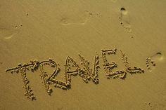 Sandy beach travel destination