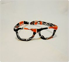 Glasses O State Cowboys Fabric Covered by BundlesOfJoyDesigns