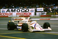 Thierry Boutsen, Arrows-BMW A8, 1985 British GP, Silverstone