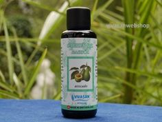 Avocado oil from Vivasan is an excellent basic oil for bath and massage with vitamins А, В, D, and Е, and lecithin. Avocado oil is ideal for mixing with one of the other Vivasan essential oils.